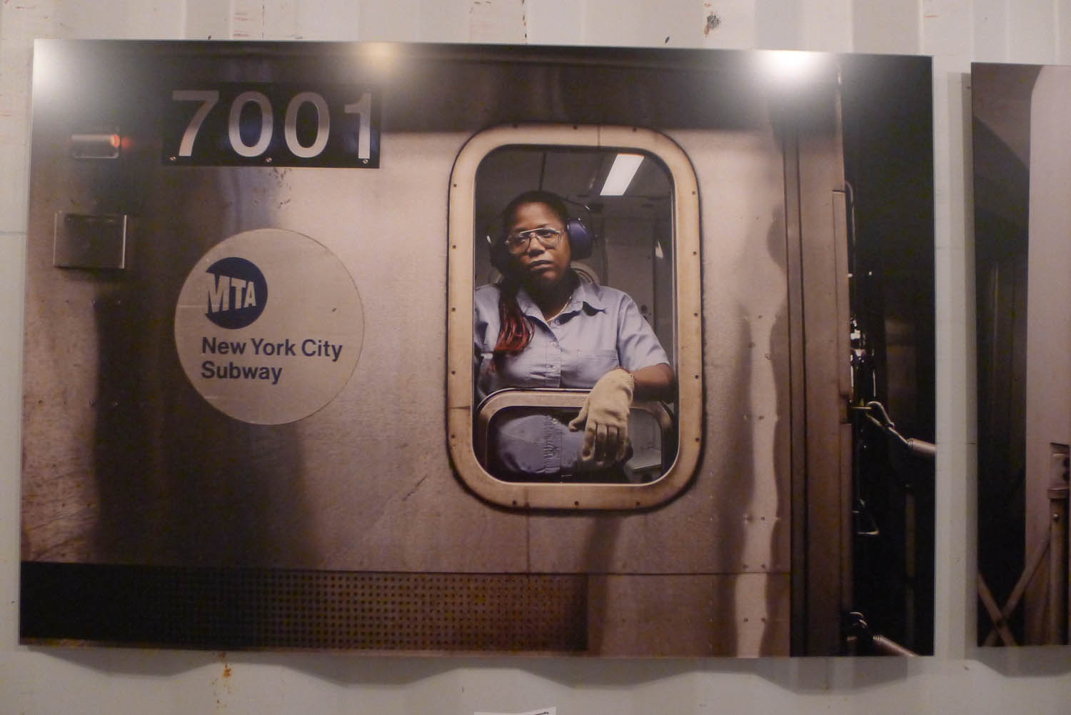 From a series by Janus van den Eijnden about subway drivers