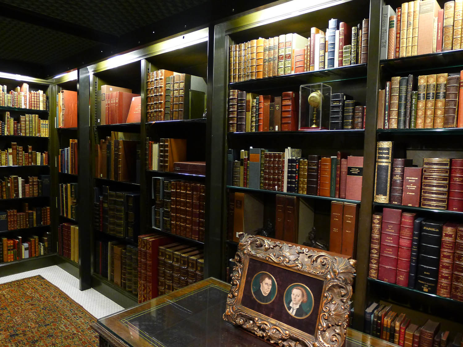 Inside - rare, expensive books