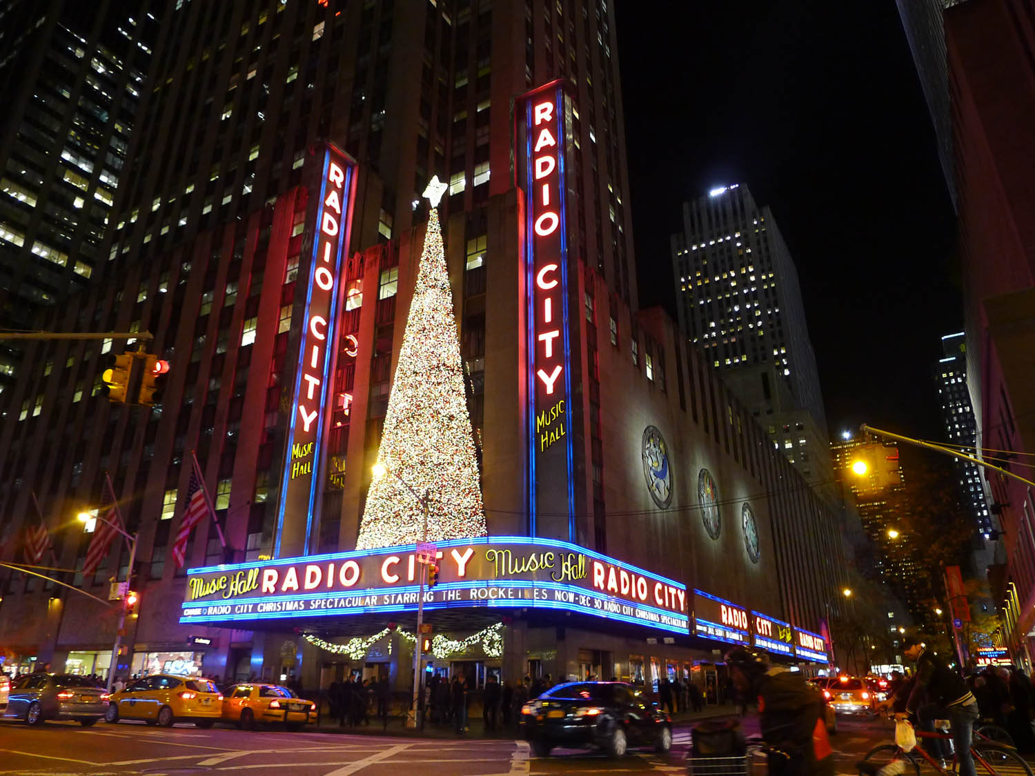 …watched Radio City's Christmas Spectacular