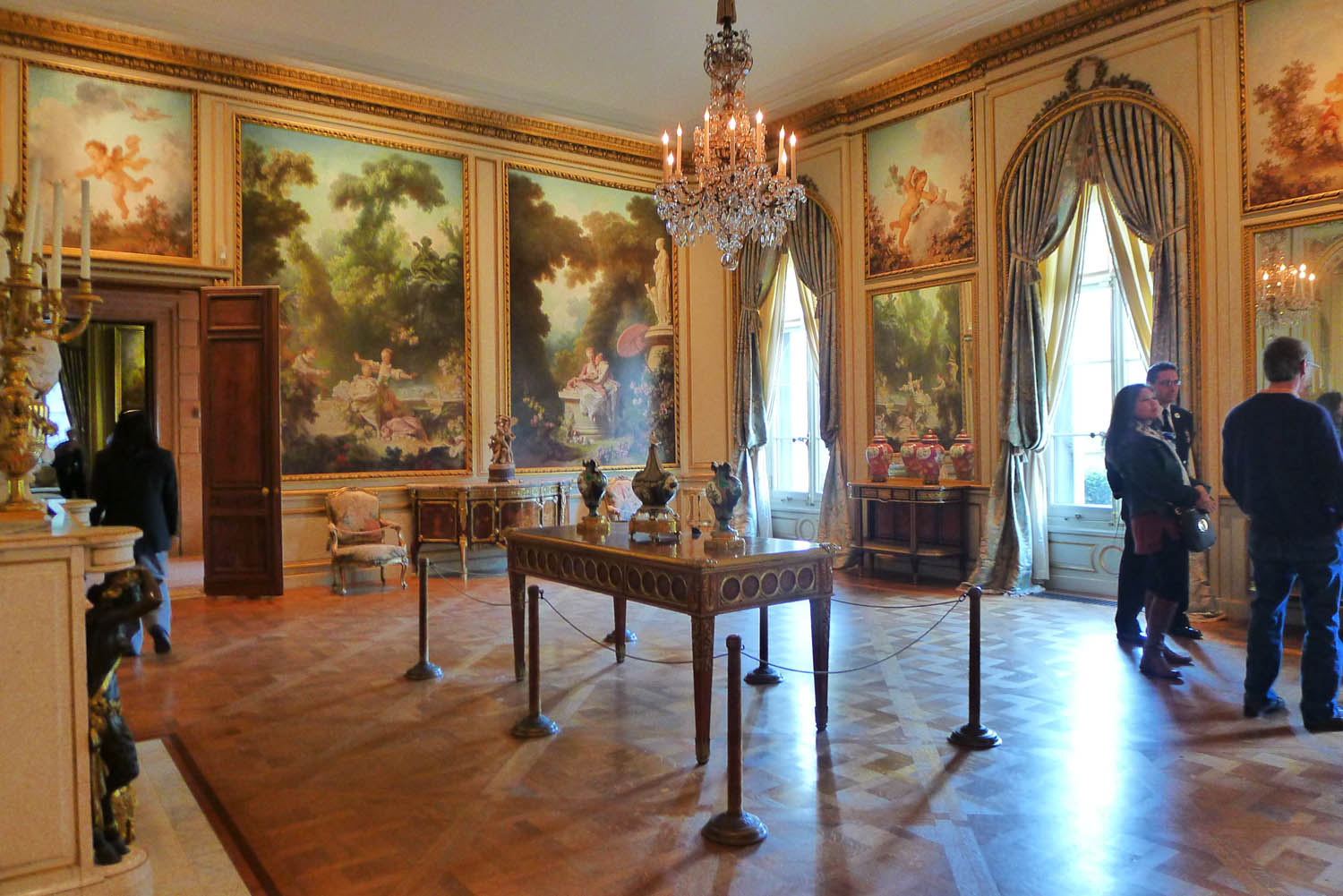 The drawing room