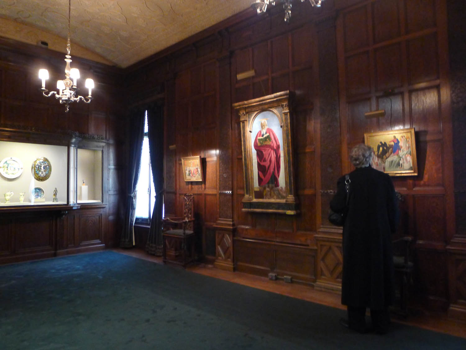 Another mini gallery room, with works acquired from J.P. Morgan