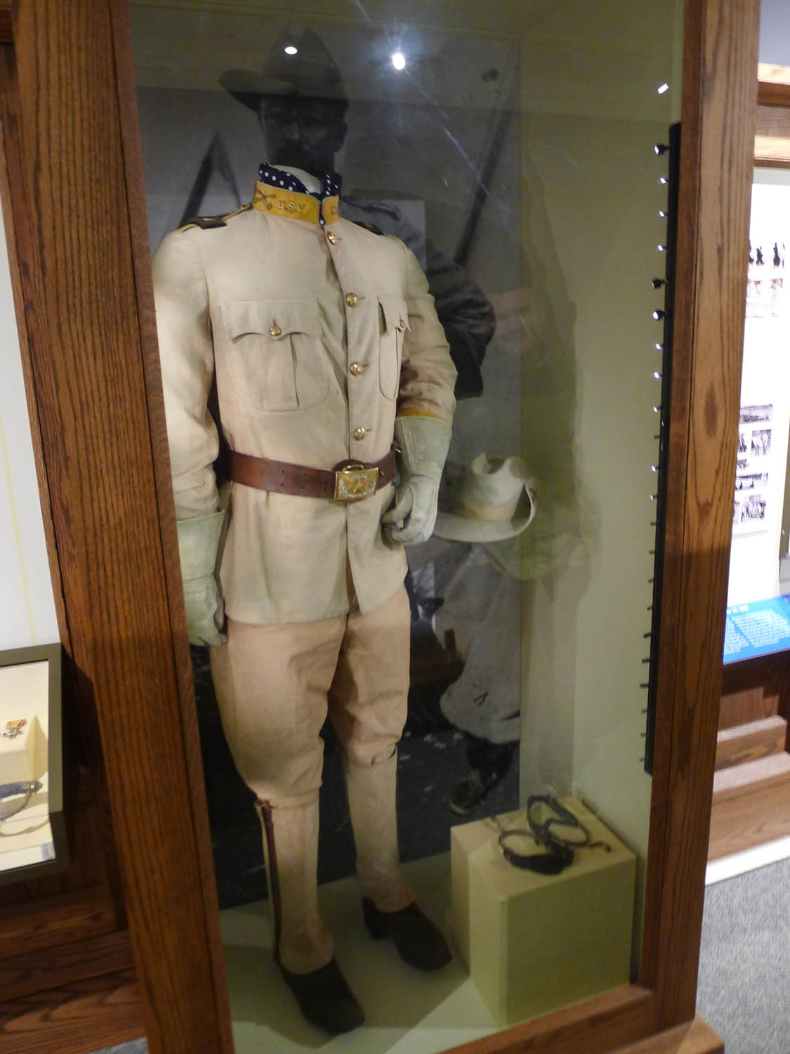 His uniform from the Spanish-American War