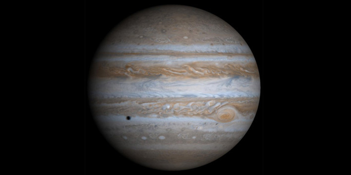 This is Jupiter (it looked nothing like this)