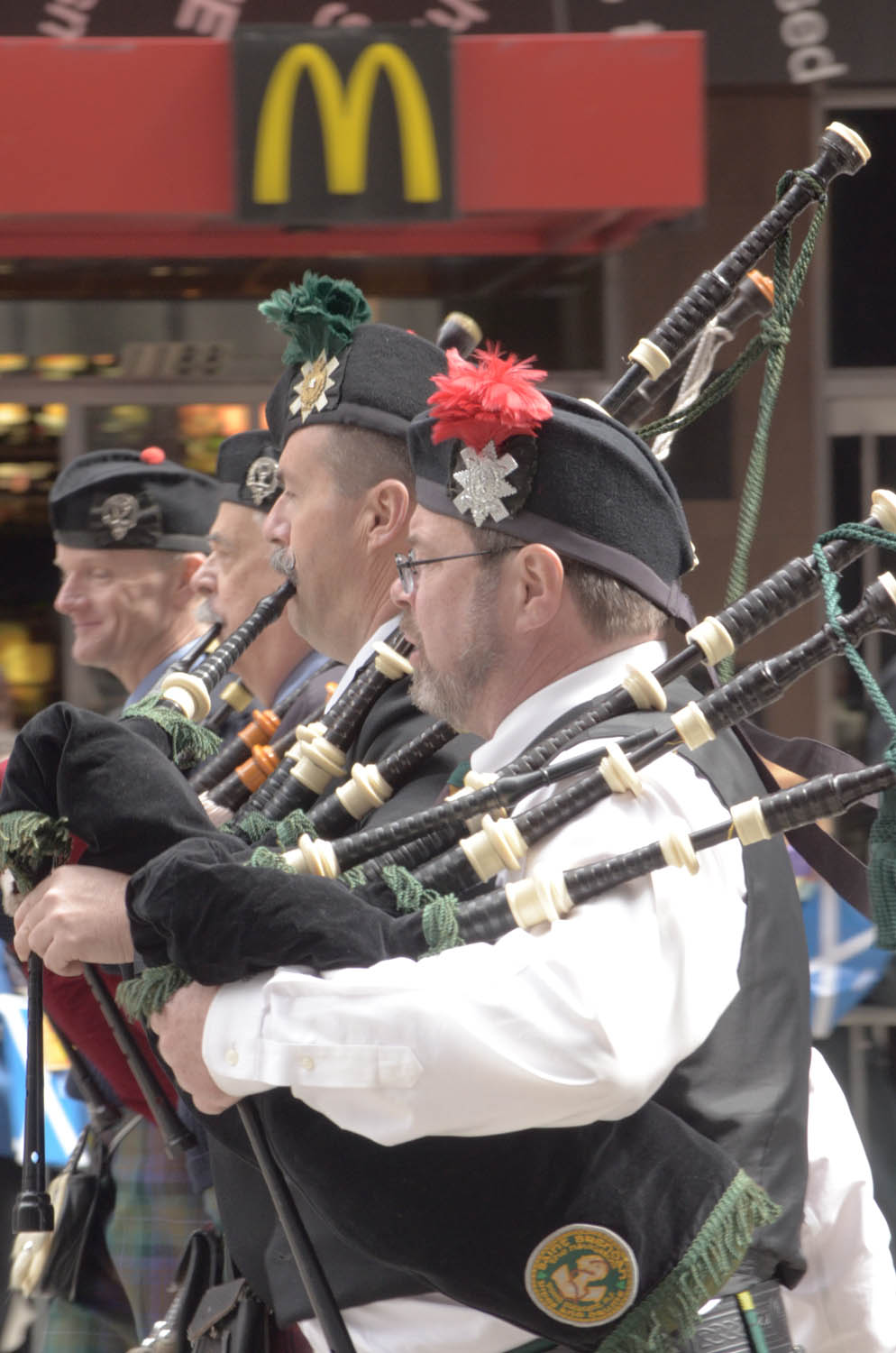 Scottish parade