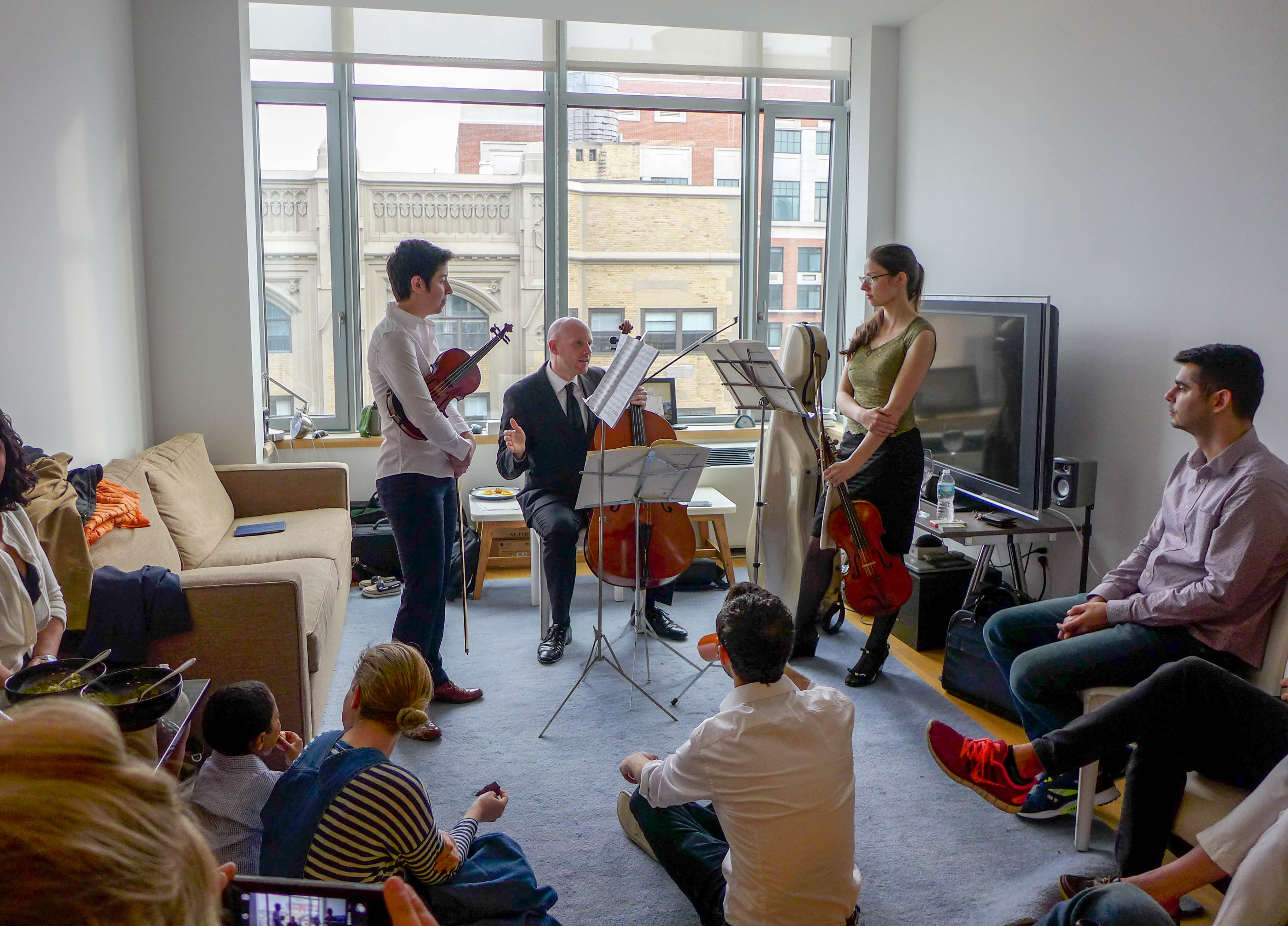 Watched A Living Room Chamber Concert